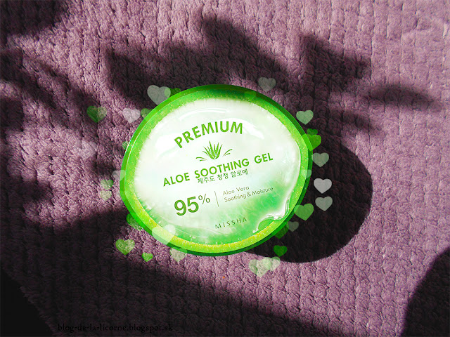 MISSHA Premium 95% Aloe Soothing Gel Review