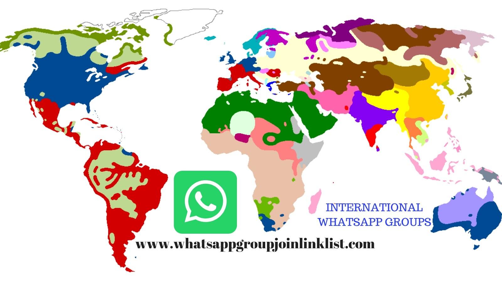 International WhatsApp Group Join Link List