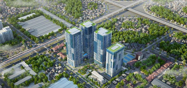 Phối cảnh dự án Goldseason Nguyễn Tuân