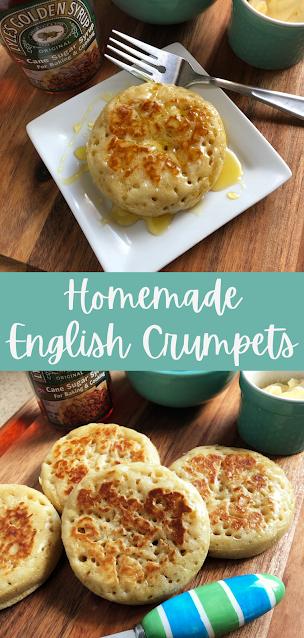 Homemade English Crumpets
