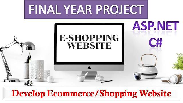 E-Shopping Website in ASP.NET C#, Bootstrap,MS SQL Server