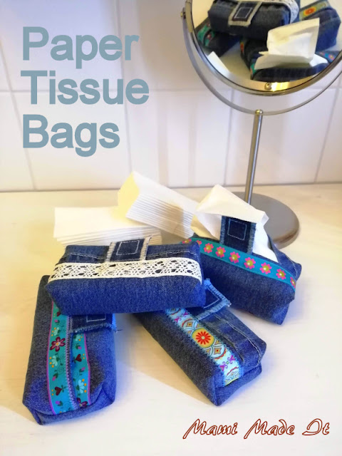 DIY: Taschentüchertaschen - Paper Tissue Bags