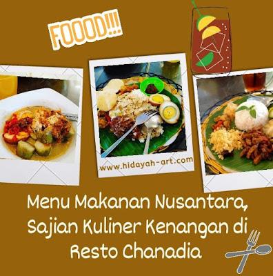 Menu Nusantara, Sajian Kuliner Kenangan di Resto Chanadia Semarang