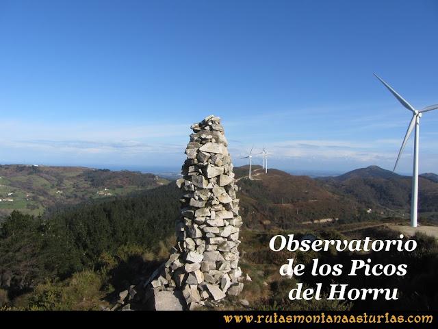Ruta Sierra Bufarán, picos Degollada o Grande y Cotera: Observatorio de los Picos del Horru