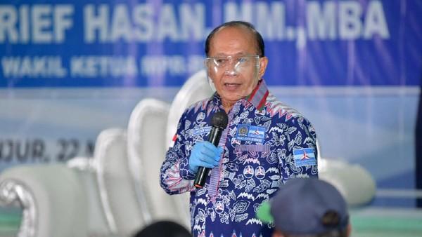 Syarief Hasan Yakin Jokowi Terganggu Manuver Moeldoko