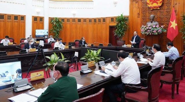 Thủ tướng: 'Để tụ tập trên 20 người, lãnh đạo địa phương sẽ bị xử lý nghiêm'