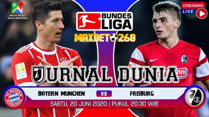 Prediksi Bayern Munich vs Freiburg 20 Juni 2020 Pukul 20.30 WIB