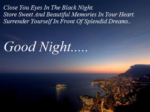 Good-Night-messages