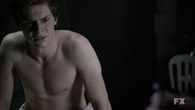 The Stars Come Out To Play: Evan Peters - New Shirtless