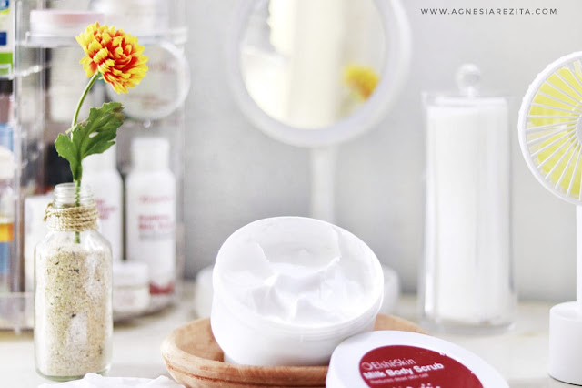 [Review] ElsheSkin Milk Body Scrub - Melembabkan & Mengurangi Sel Kulit Mati
