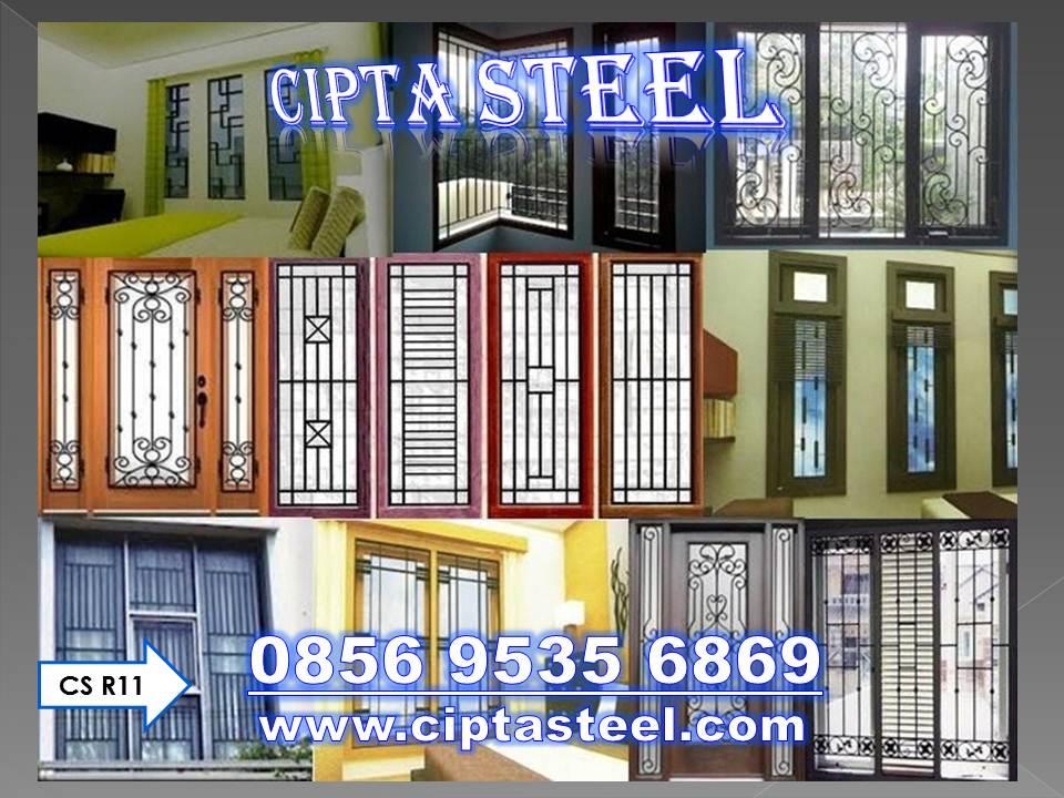 0856 9535 6869 Gambar Pagar Rumah Minimalis Cilegon Harga Baja