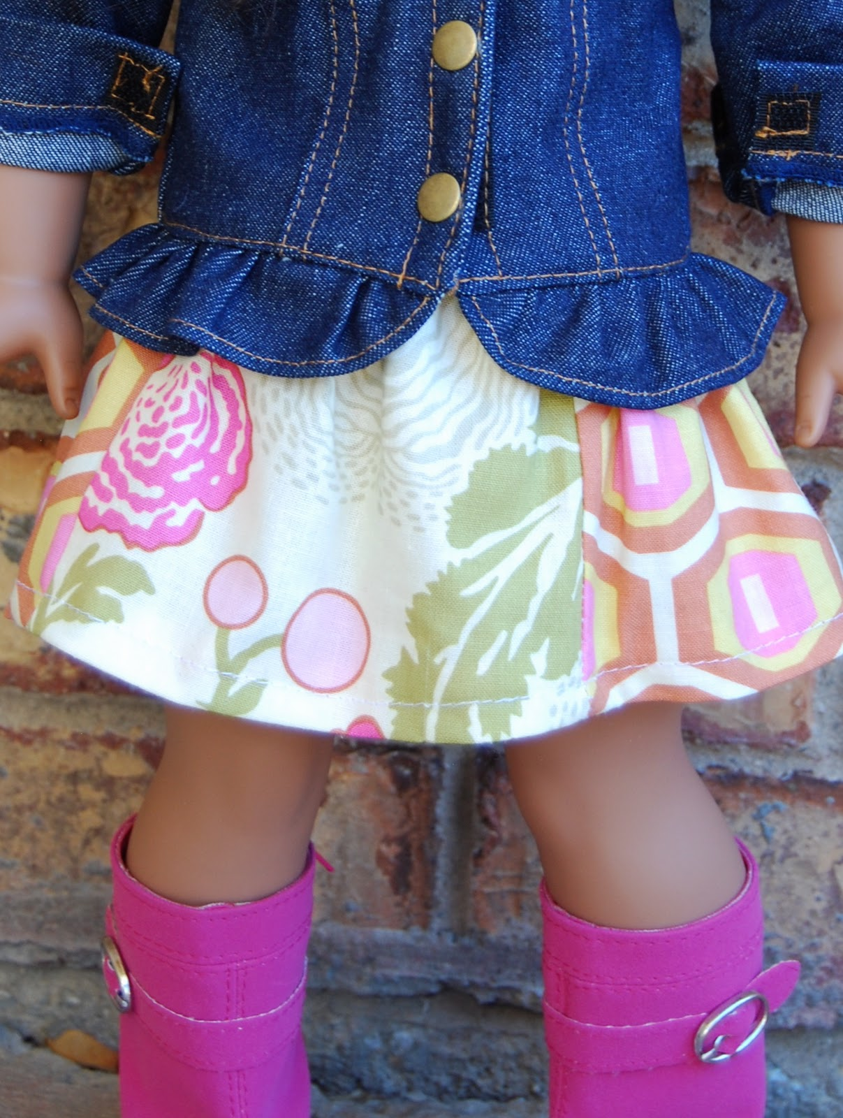 Doll Skirt Pattern 5