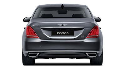 New 2017 Genesis G90 back side