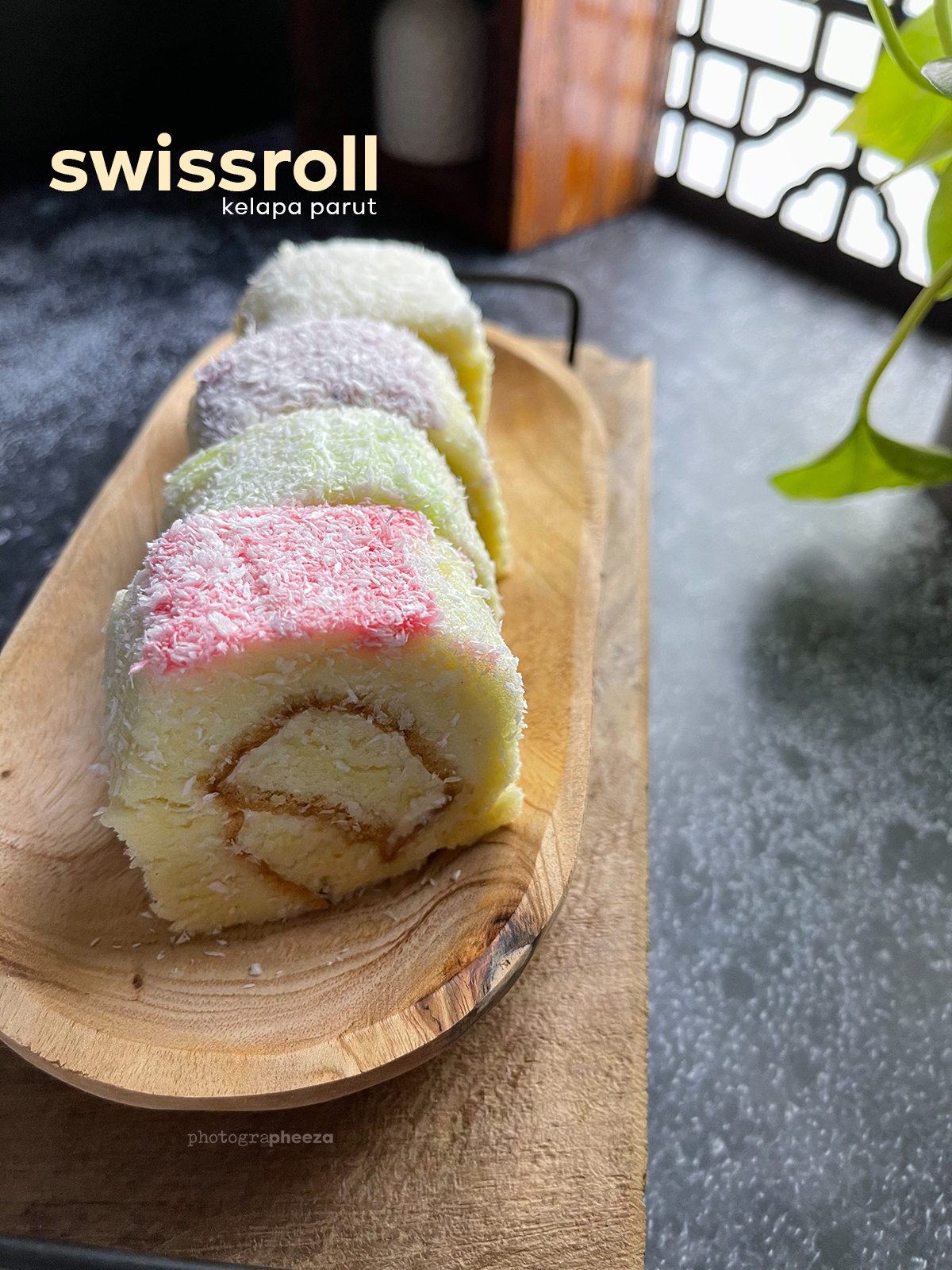 Swissroll Kelapa Parut