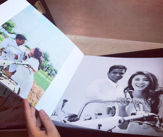 Lộ ảnh cưới của diễn viên Nguyệt Ánh và ông xã Ấn Độ - 4