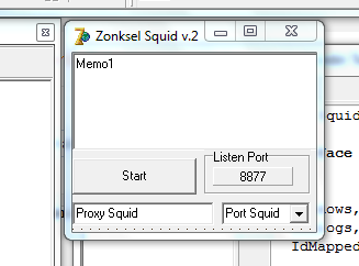 Cara Buat Injek Squid Proxy