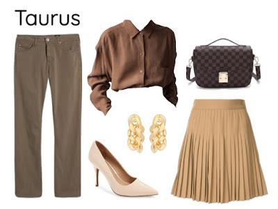 Gaya pakaian zodiak Taurus