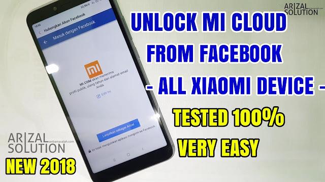 Lupa Password Akun Mi? Unlock Mi Account Mi Cloud Xiaomi, Tanpa Komputer/Pc (Via Facebook Account)