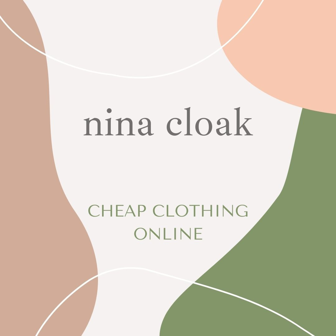 nina cloak cheap clothing online