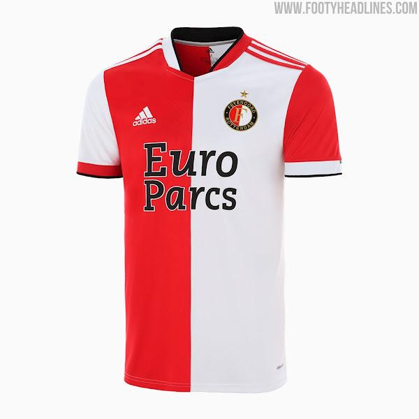 Feyenoord 21-22 Home Kit Released - Footy Headlines