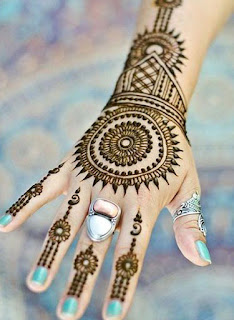 Easy Arabic Mehendi Designs