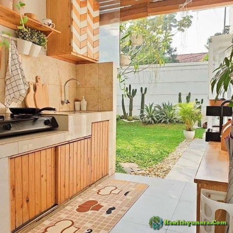 Clean and attractive kitchen display
