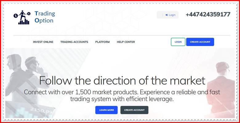[ЛОХОТРОН] tradingoption.net – Отзывы, развод? Компания Trading Option мошенники!