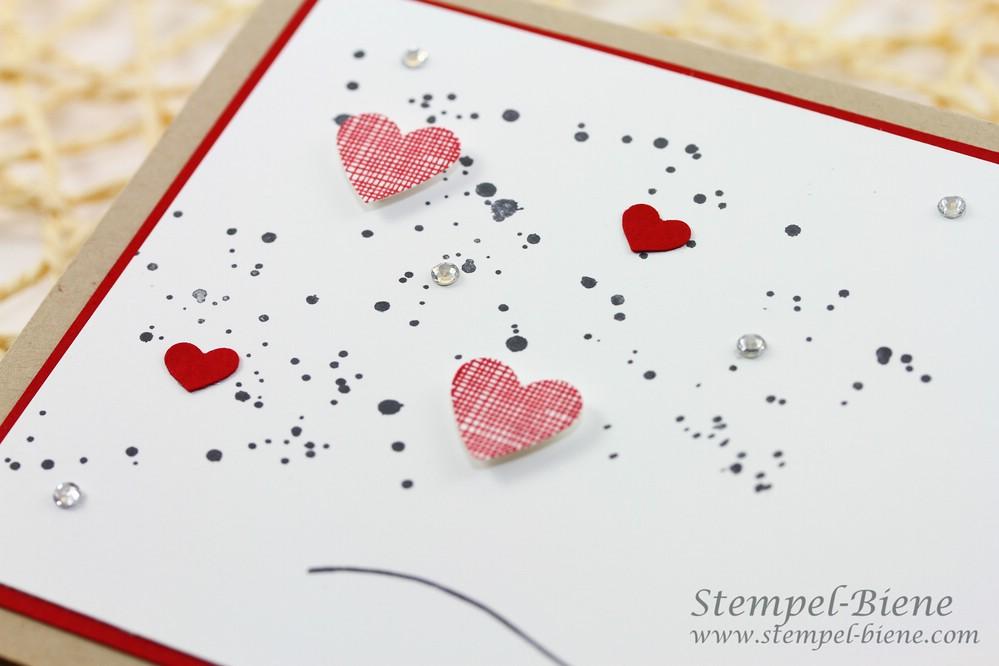 Stampin Up Valentintstag, Valentinstagskarte, Stampin Up Hello Life, Stampin Up Sammelbestellung, Stampin Up Stempelpartys