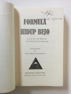 Formula Hidup Bejo