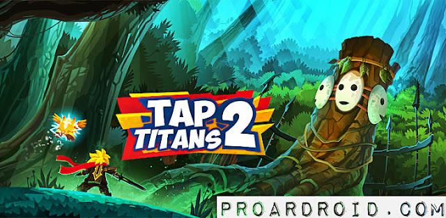 لعبة Tap Titans 2 v2.10.3 مهكرة كاملة للاندرويد (اخر اصدار) logo