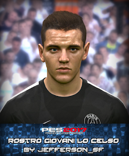 PES 2017 Faces Giovani Lo Celso by FaceEditor Jefferson_SF