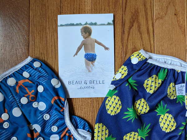 Swim in Style with Beau & Belle Littles Nageuret Swim Diapers #MBPHGG18