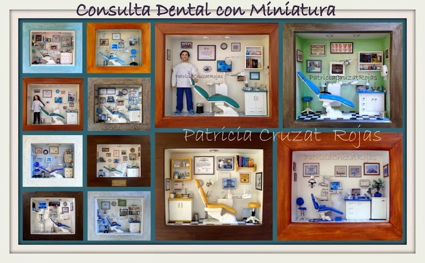 CONSULTA DENTAL CON MINIATURAS