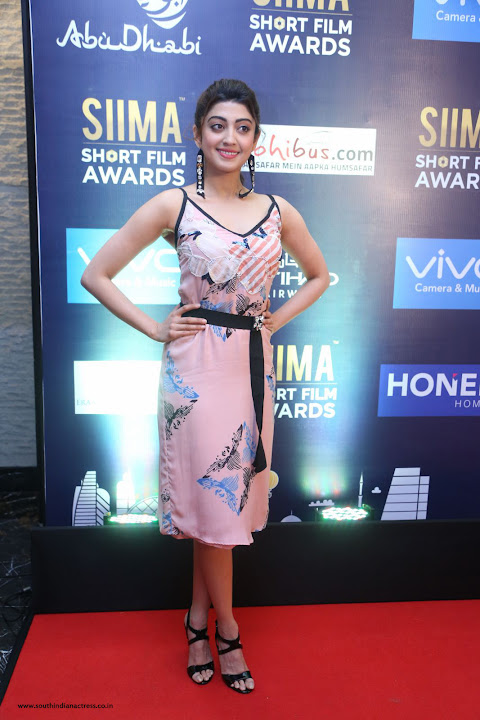 Pranitha Subhash at the SIIMA Short Film Awards - South