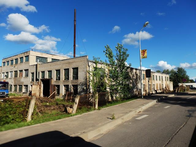 Łotwa, opuszczona fabryka, sierpień 2016.