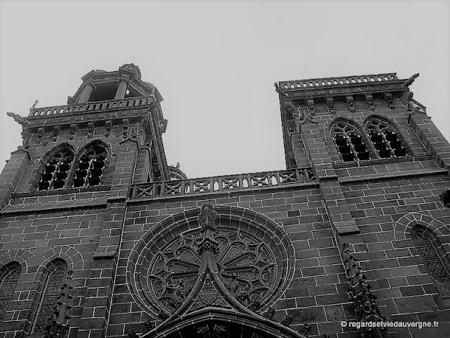 Eglise Notre-Dame du Marthuret de Riom, Puy-de-Dôme.