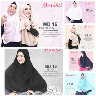 Jilbab Munira MD 16 Koleksi hijab syar'i terbaru dewasa