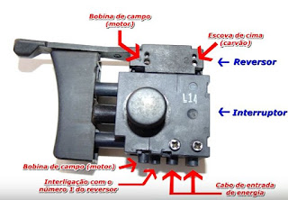 Cara memasang saklar Bor setting putaran bolak-balik dan speed kontrol / pengatur kecepatan