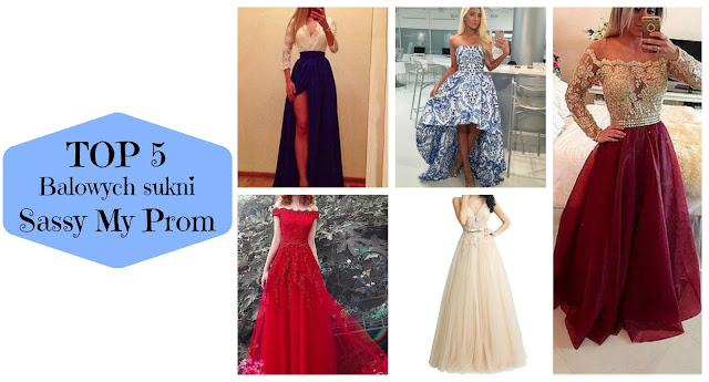 TOP 5: Balowych sukni | Sassy My Prom