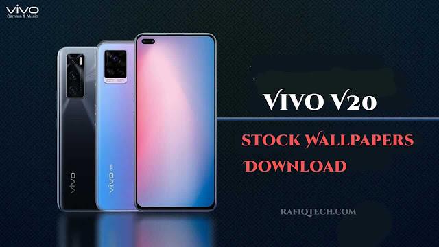 تنزيل خلفيات هاتف فيفو Vivo V20 الرسمية  بدقة [FHD+]