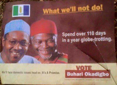 president Buhari travelling