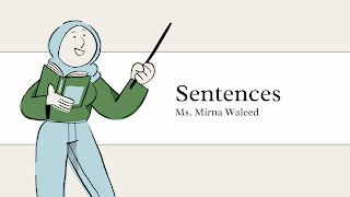 Sentences - Grade 1