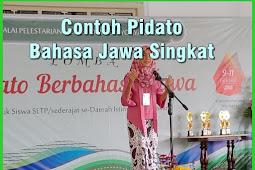 Contoh Pidato Bahasa Jawa Singkat ( Berbagai Acara  )