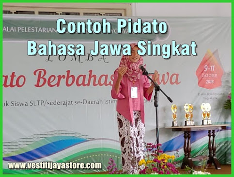 Contoh Pidato Bahasa Jawa Singkat