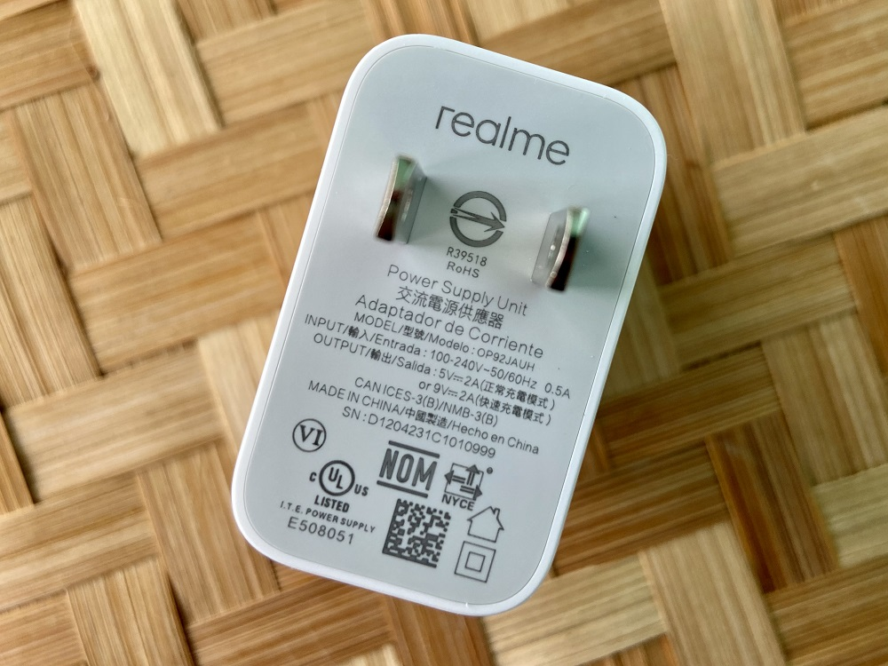 realme C25 18W Fast Charger