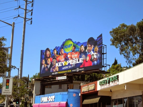 Key Peele season 4 special extension billboard