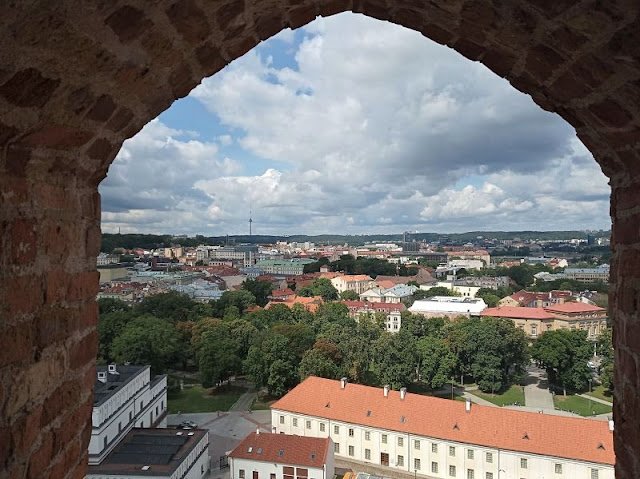 panorama dalla torre di gediminas