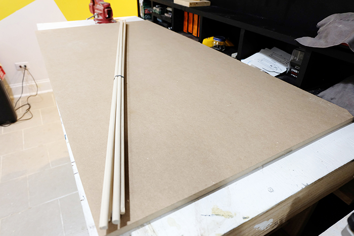 panel board and dowel supplies