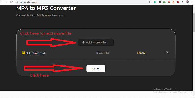 Convert MP4 To MP3