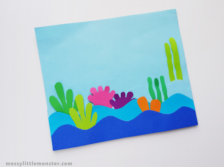 under the sea sea creature craft for kids